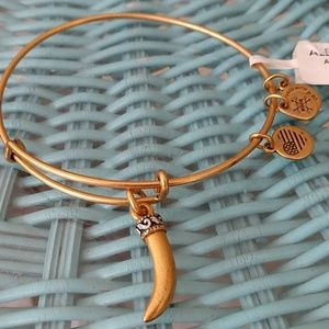 "ALEX AND ANI'S ""HORN"" IN ROSE HOLD. BRAND NWT!!"